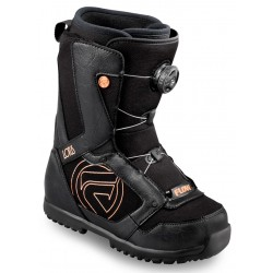 Flow Lotus BOA coiler snowboard boots black ladies