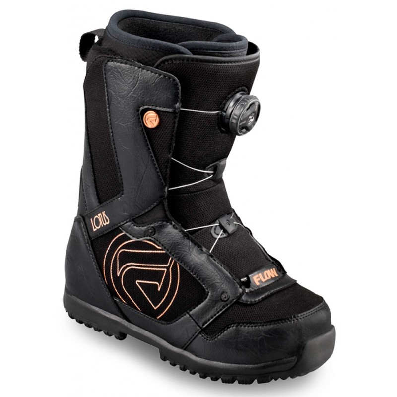 Flow Lotus BOA coiler dames snowboard boots zwart