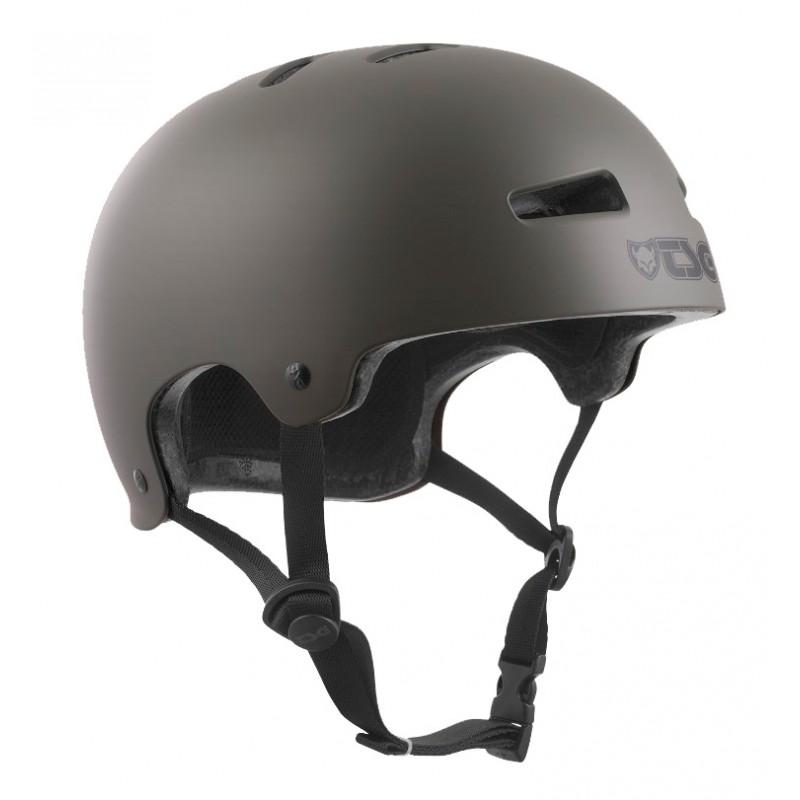 TSG Evolution helmet satin stone green