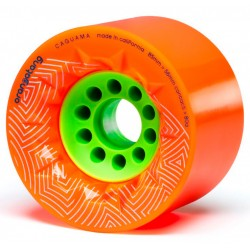 Orangatang Caguama 85mm wheels orange
