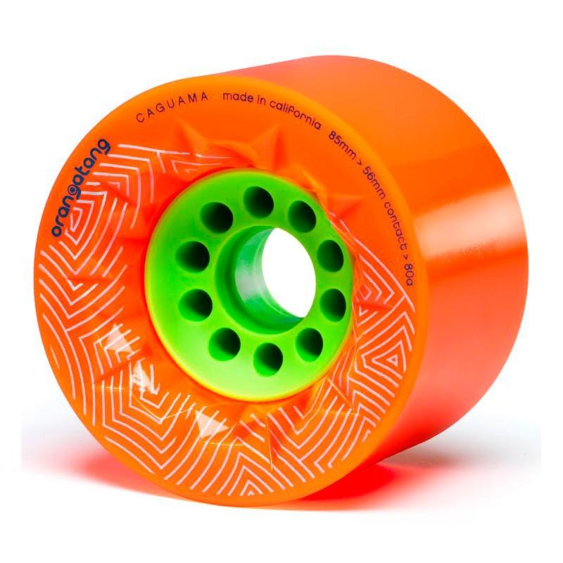 Orangatang Caguama 85mm wheels orange