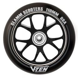 Slamm V-ten alloy core stunt step wheels 110 mm black