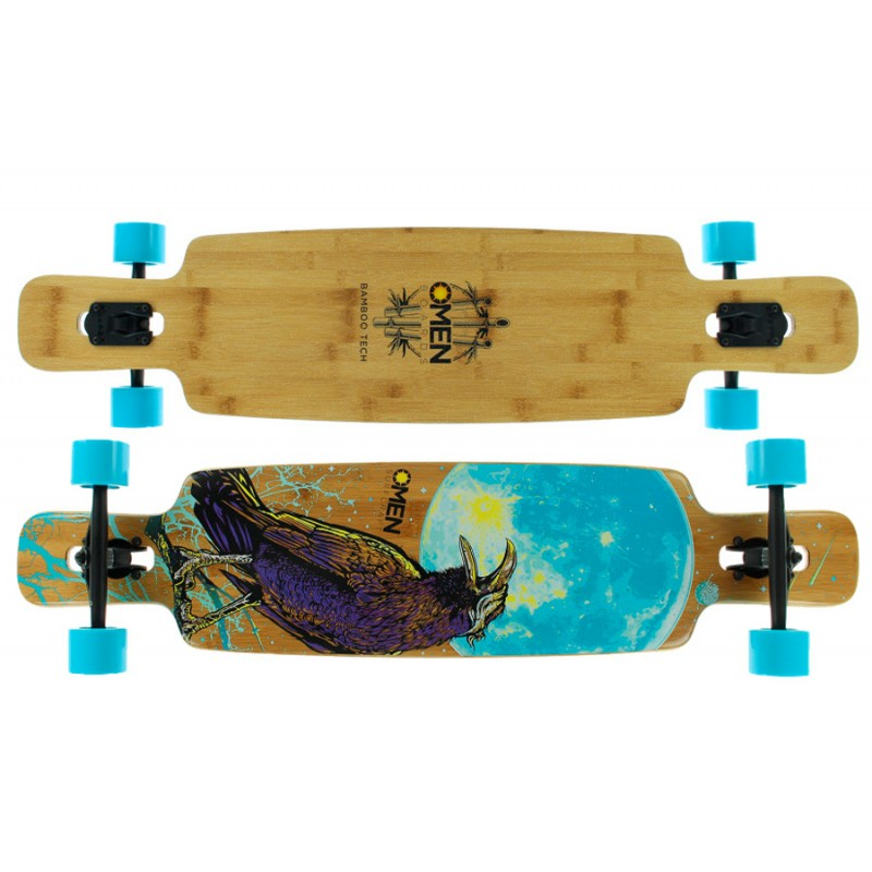 "Omen Flock 46"" freestyle dancer longboard compleet"