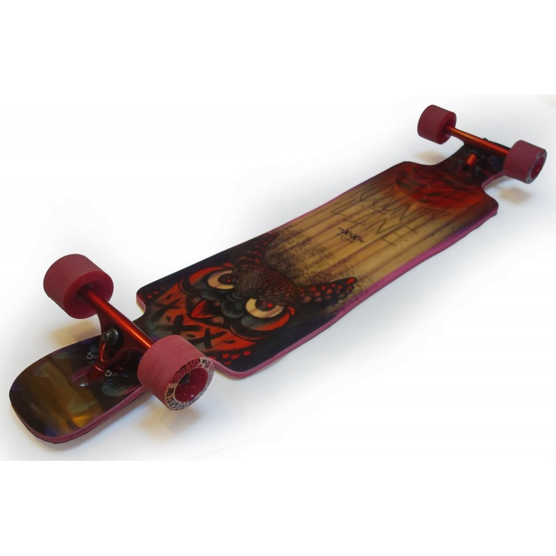 """Moonshine County line soft 43.75"""" complete longboard"""