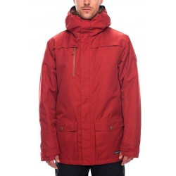 686 Anthem insulated snowboard jacket rusty red 10K