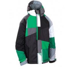 686 Boys Mannual Max jacket green