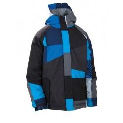 686 Boys Mannual Max snowboardjacket royal
