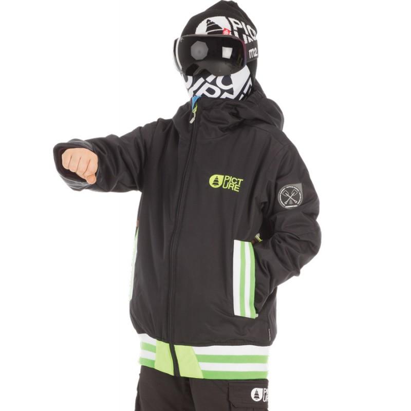 Park Avenue snowboardjas jeugd 10K zwart