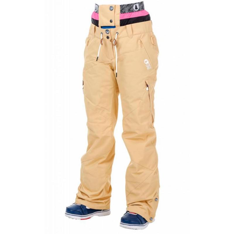 Picture Treva pantalon de snowboard beige femmes 10K (seulement M)