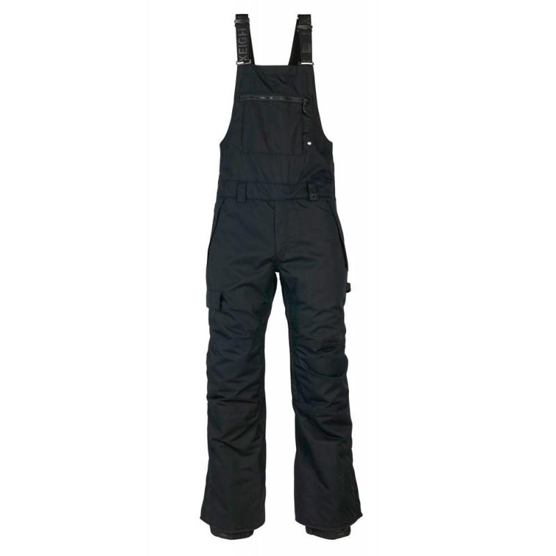 686 Hot lap insulated BIB snowboard pant 15K black (M)