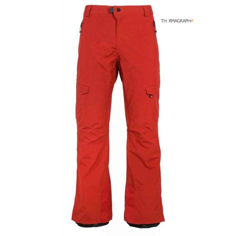 686 GLCR Quantum therma Snowboardhose 20K rusty red