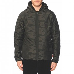 Globe Fielder Reversible Jacket black Polartec