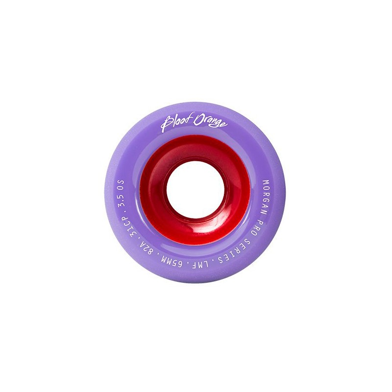 Blood Orange Morgan Pro Pastel Rollen 65 mm 82a lavendel-rot