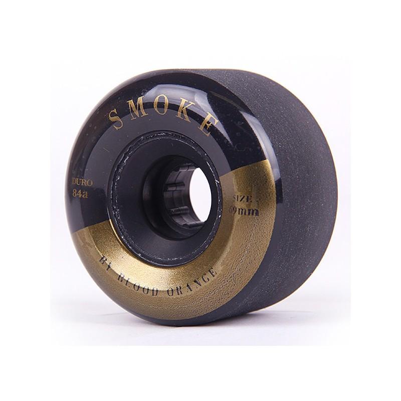 Blood Orange Smoke wheels 69 mm black-gold