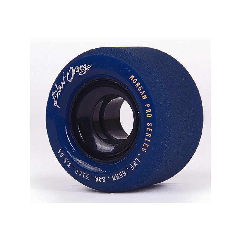 Blood Orange Morgan Pro Pastel wheels 65 mm 82a dark-blue