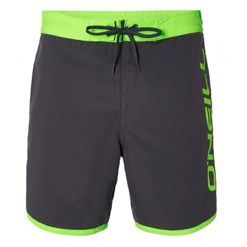 "O'Neill PM Frame 16.5"" Logo hyperdry shorts male black-green"