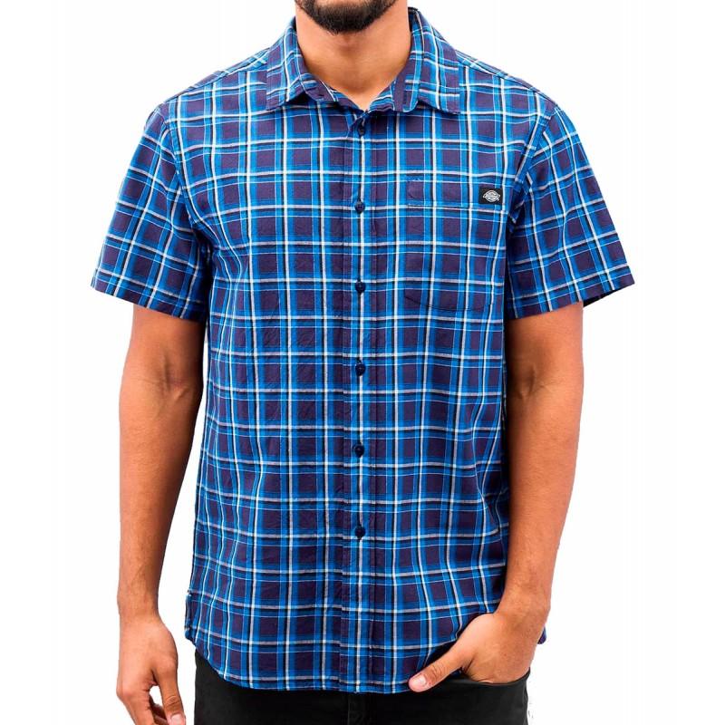 Dickies Vinton short sleeve shirt blue