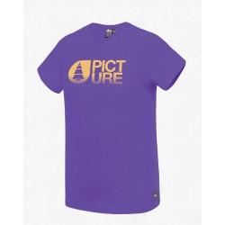 Picture Dusk T-Shirt violet