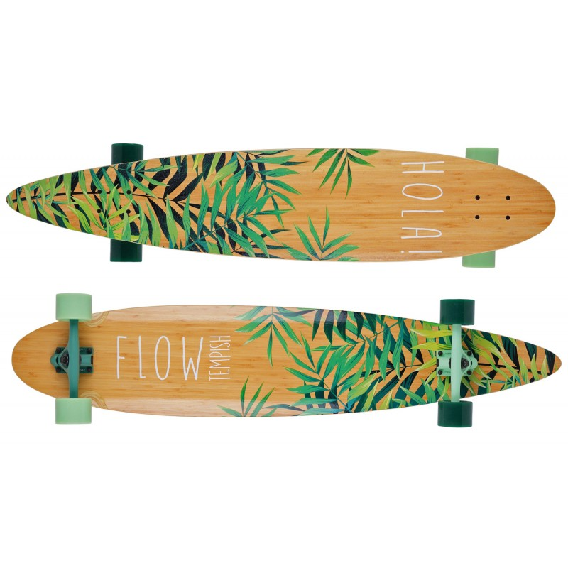 """Tempish Flow 46"""" pintail complete longboard"""