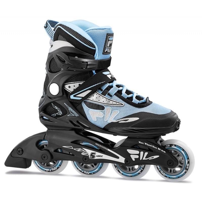 FILA Legacy Comp 80 lady inline skates zwart-blauw
