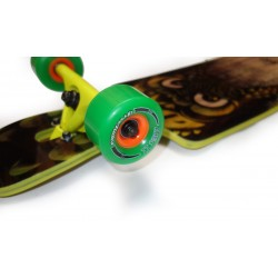 "Moonshine County line soft 43.75"" complete longboard"