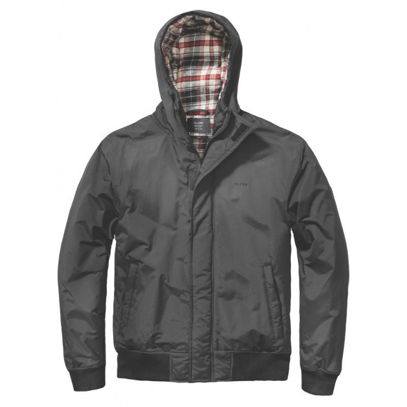 Globe Malvern jas gevoerd zwart (waterafstotend)