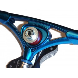 Sabre Forged Precision trucks 180 mm blue raw