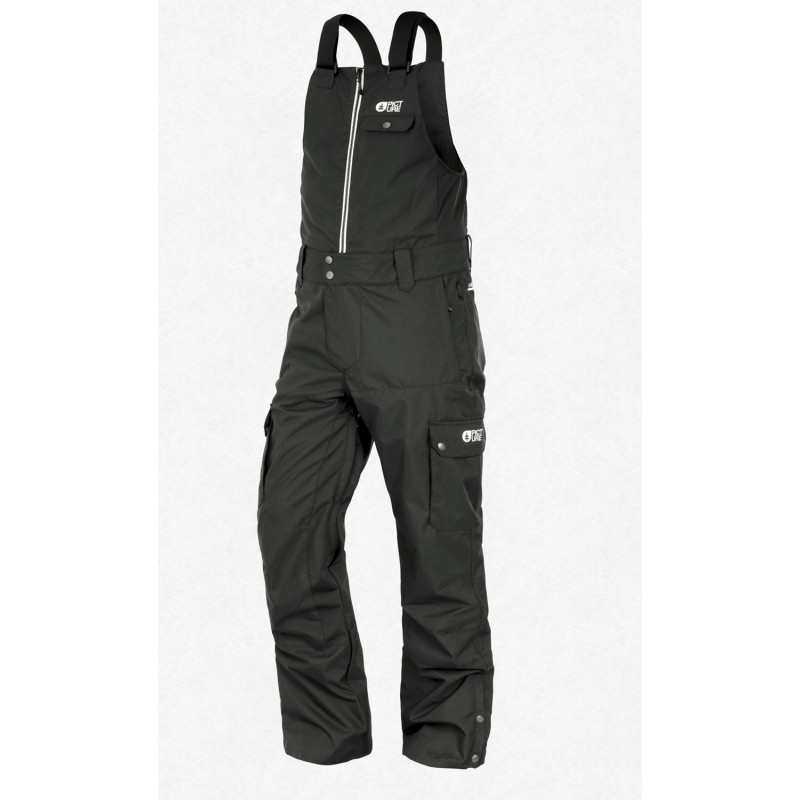 Picture Charles BIB snowboard pants black 10K
