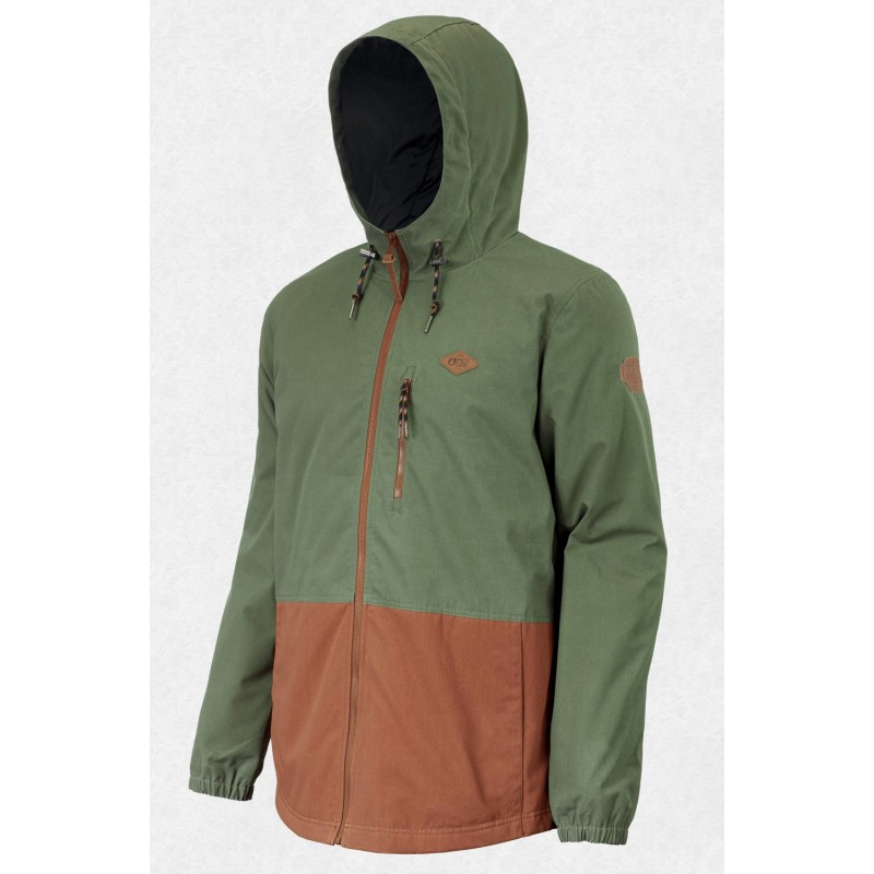 Picture Surface insulated jacket army green 10K