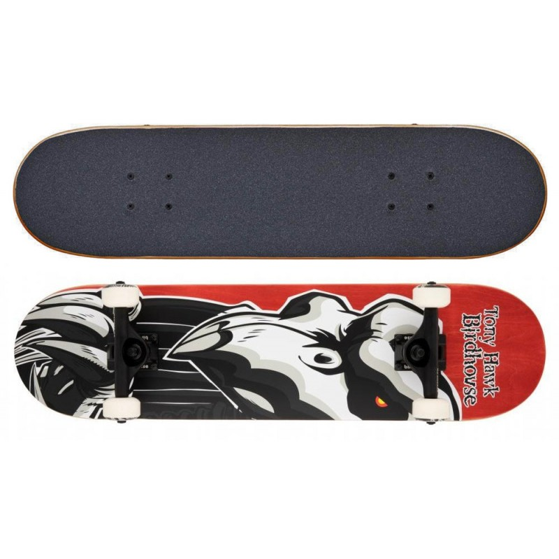 """Birdhouse Stage 3 Falcon 2 skateboard 8"""" red"""
