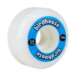 Birdhouse logo skate wheels 54 mm blue