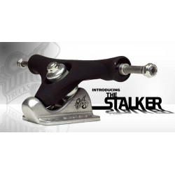 "Gullwing Stalker 9.5"" 50 degrees trucks black rubber (set of 2)"