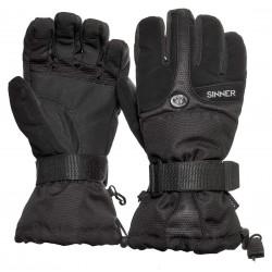 Sinner Everest male ski gloves black