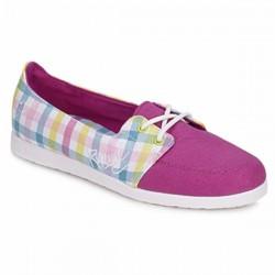 Rip Curl Lazy Girl summer shoes plaid purple