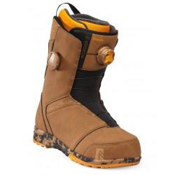 Nidecker Tracer Heel Lock BOA Coiler bottes de snowboard café miel