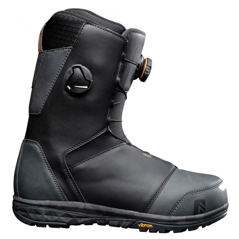 Nidecker Tracer heellock BOA coiler snowboard boots black 2021