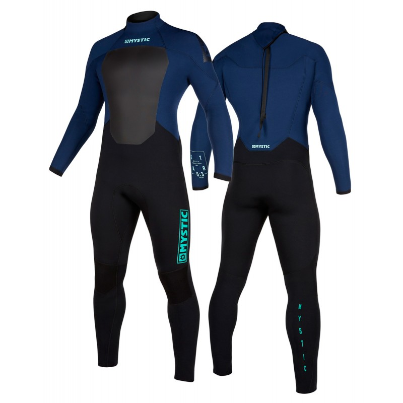 Mystic Star 5/3 mm GBS Neoprenanzug Backzip navy