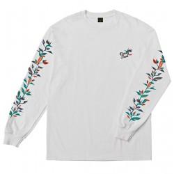 Dark Seas Greenery T-shirt àmanches longues blanc