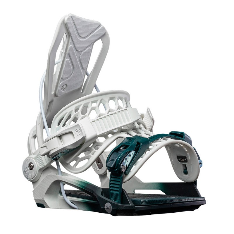 Flow Mayon Fusion dames snowboardbinding wit-groen
