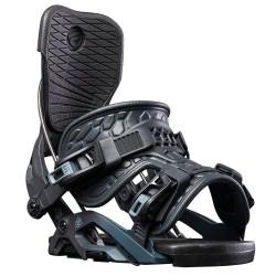 Flow Omni Fusion fixation de snowboard binding noir