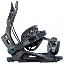 Flow Fenix snowboard binding black