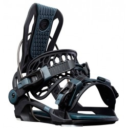 Flow Fenix Fixation de snowboard noir