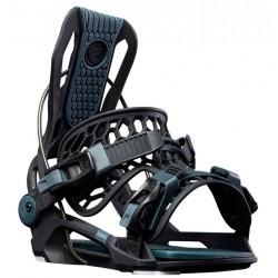 Flow Fenix Snowboardbindung schwarz