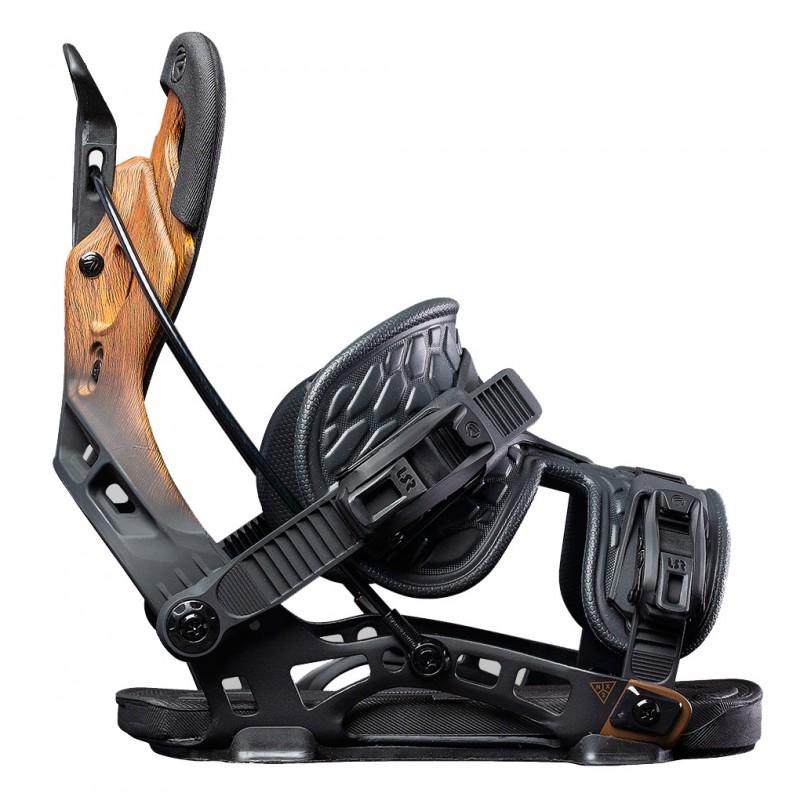 Flow NX2 Fusion Snowboardbindung driftwood 2021 (L)