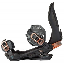 Arbor Cypress snowboard bindings black