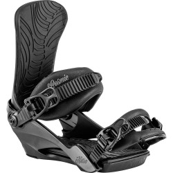 Nitro Cosmic female snowboard binding black