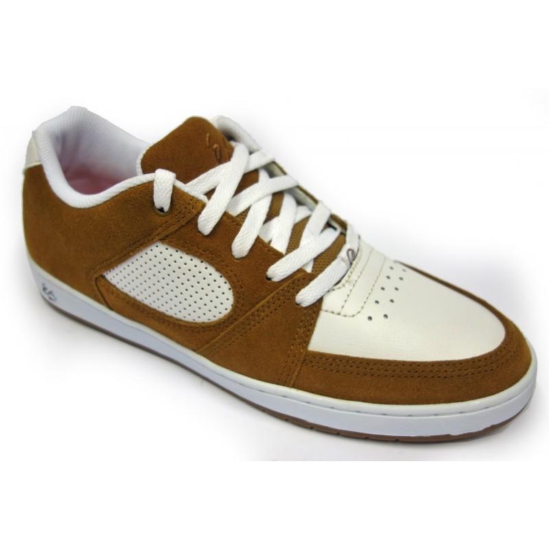 És Accel slim chaussures marron blanc