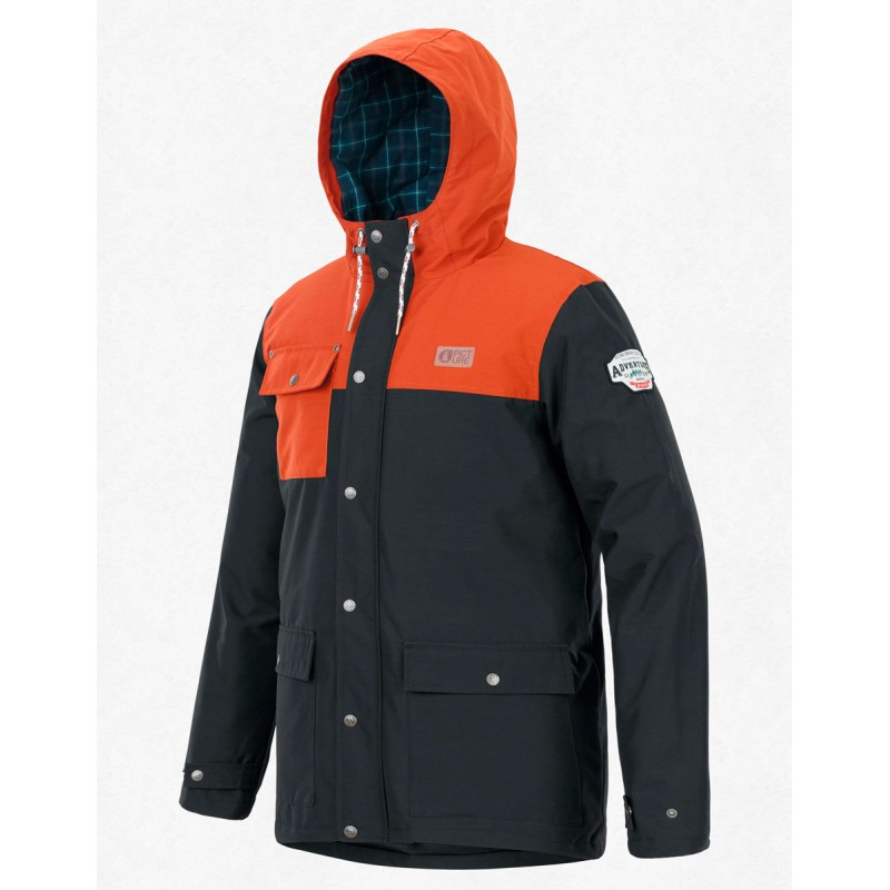 Picture Jack snow jacket 10K black