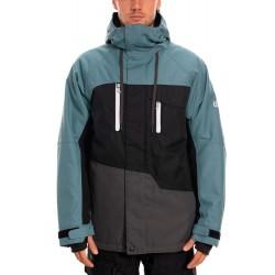 686 Geo insulated veste de snowboard 10K goblin blue