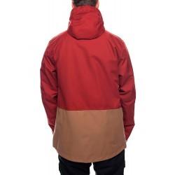 686 Smarty Form 3-in-1 snowboard jacket rusty red 20K rear